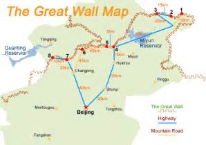 Great Wall Of China Map by Great Wall Map Image Search Results