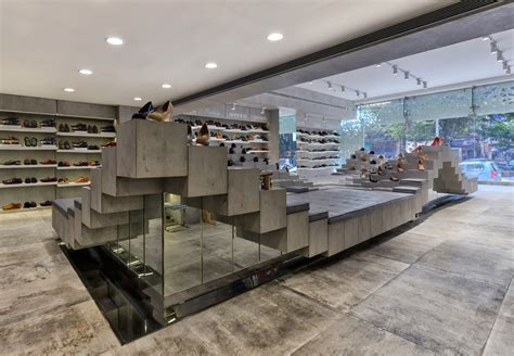 Home Depot Design Store Regal Shoes Showroom Design The Architects Diary