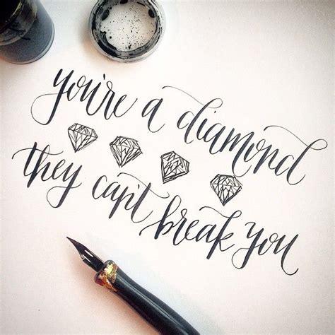 diamond tattoo with quote best 25 diamond tattoos ideas on pinterest black