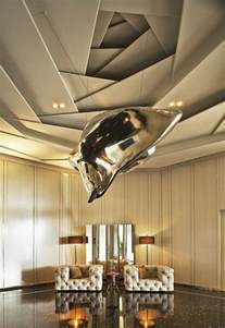 le plafond suspendu est une d 233 co pratique pour l