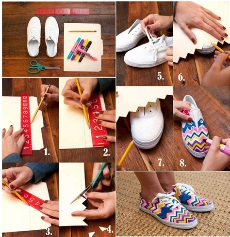 diy fashion craft ideas diy fashion craft sneakers pictures photos and images