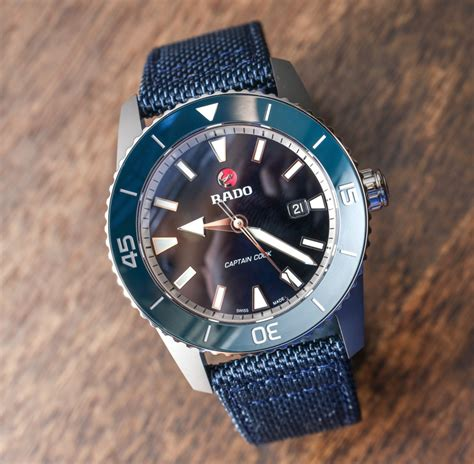 Rado Captain Cook 37mm & 45mm Watches For 2017 Hands On   aBlogtoWatch