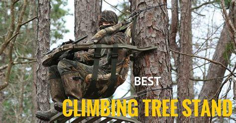best climbing best climbing tree stands to bag that buck elite huntsman