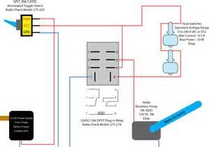 radio shack automotive relay wiring diagram