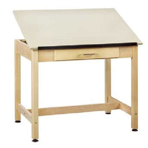 Drafting Table Canada Dt 31a Drafting Table 42 Quot W X 30 Quot D X 39 3 4 Quot H 1 Adjustable Top 6 Drawers