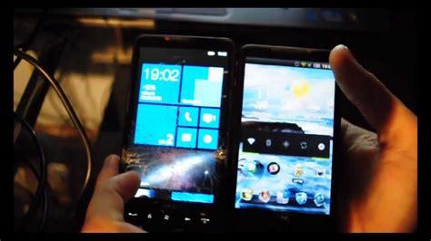 Handphone Htc Windows 8 instalar windows phone 7 8 en htc hd2 tutorial