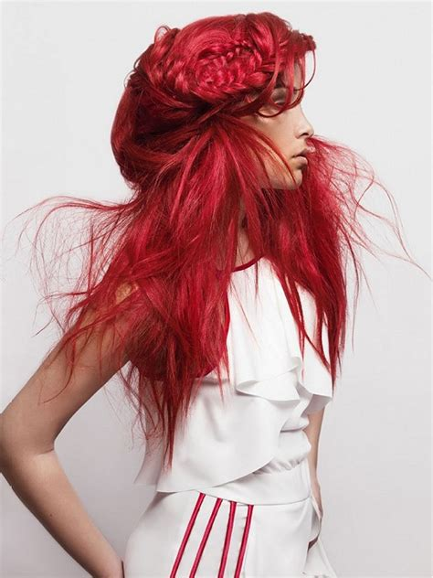 Edgy Red Hairstyles | top 10 most fashionable long hairstyles for 2015 pretty