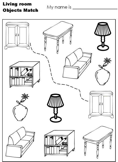 coloring coloring page objects to color by following the color numbers and object worksheet coloring pages