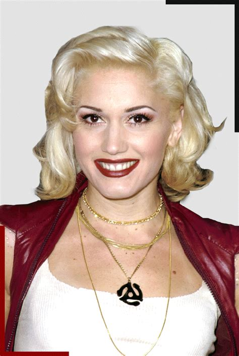middle age platinum and chestnut haircolora middle age atinum hair color how gwen stefani has stayed