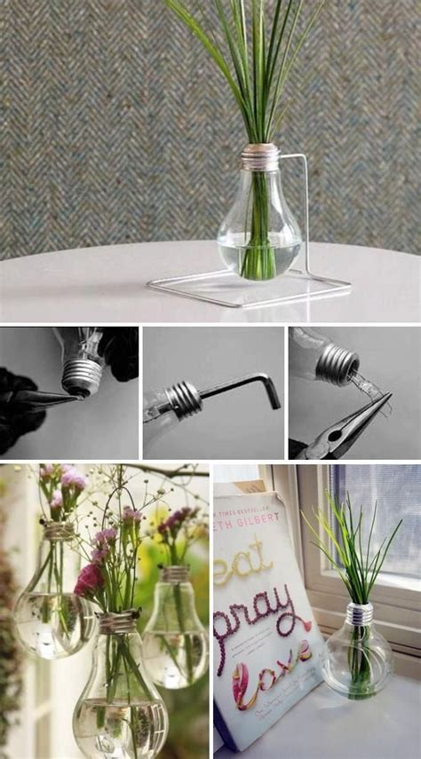 diy ornaments from light bulbs diy light bulb vase pictures photos and images for
