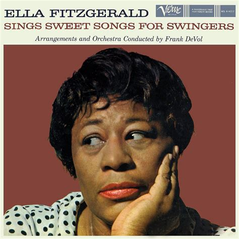 ella fitzgerald swing ella fitzgerald sings sweet songs for lp cover