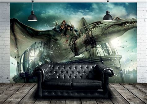 Harry Potter Wall Mural wallsauce com launches new harry potter wall murals