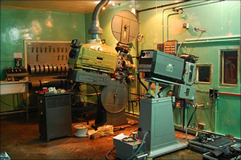 Projection Room by History Gallery York S Odeon Cinema