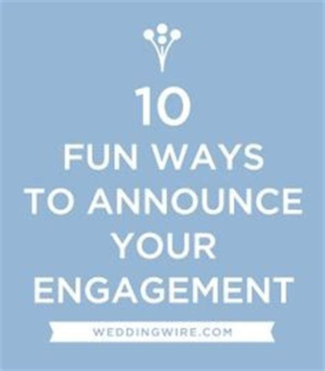 Wedding Announcement After The Fact by Engagement Announcement Quotes Quotesgram