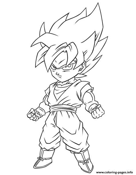 dragon ball z super saiyan free coloring page coloring