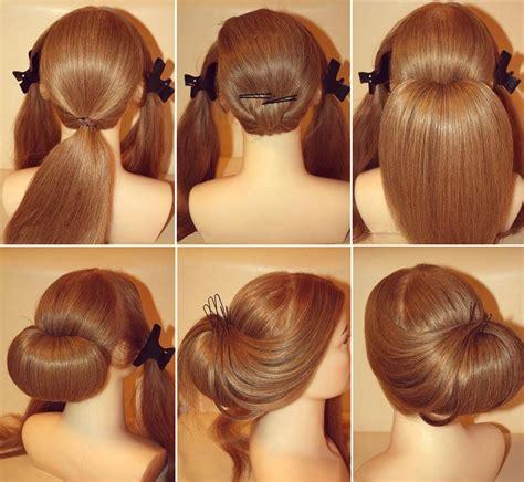 Easy Pretty Hairstyles by Easy Pretty Hairstyles Step By Step Www Pixshark