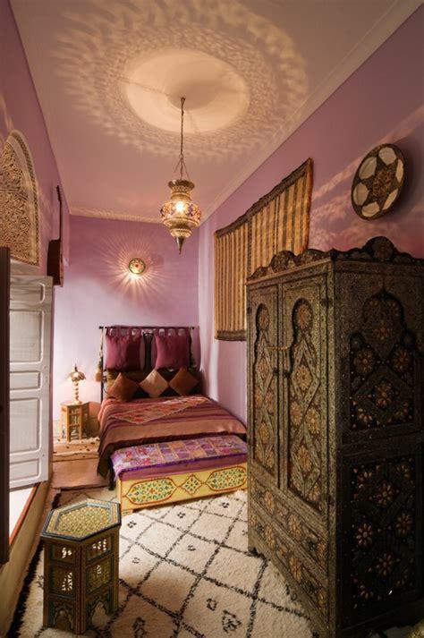 schlafzimmer orientalisch einrichten orientalische len sorgen f 252 r romantik und gem 252 tlichkeit