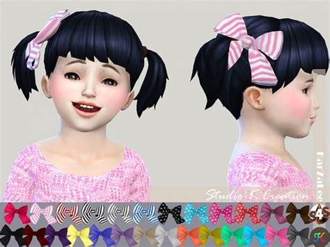 bow set at studio k creation 187 sims 4 updates head bow for toddler at studio k creation 187 sims 4 updates
