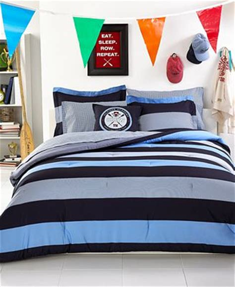 tommy hilfiger twin comforter closeout tommy hilfiger wyndham rugby twin twin xl