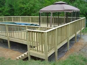 information deck decks and handrail information