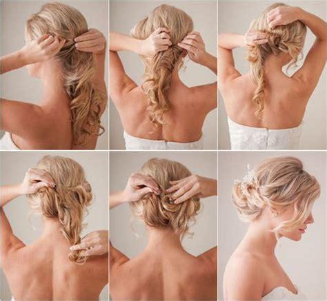 semirecogidos faciles para hacer en casa como hacer peinados para bodas