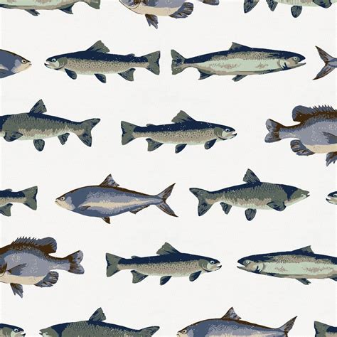 Fish Crib Sheets by Navy And Seafoam Fish Crib Sheet Carousel Designs