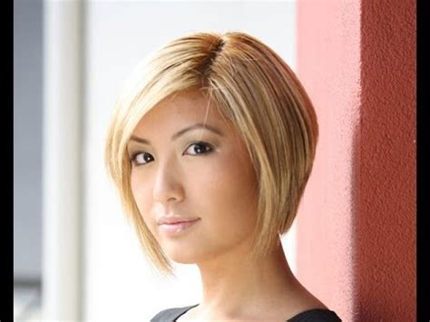 ear length bob for older women 25 fashionable graduated bob haircut youtube