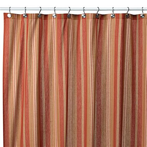 shower curtains striped baja stripe tuscan 72 inch x 72 inch fabric shower curtain