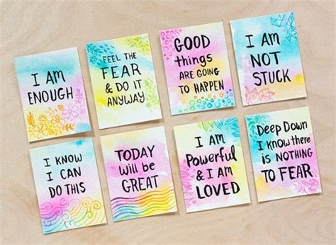 best 25 affirmation cards ideas on i am