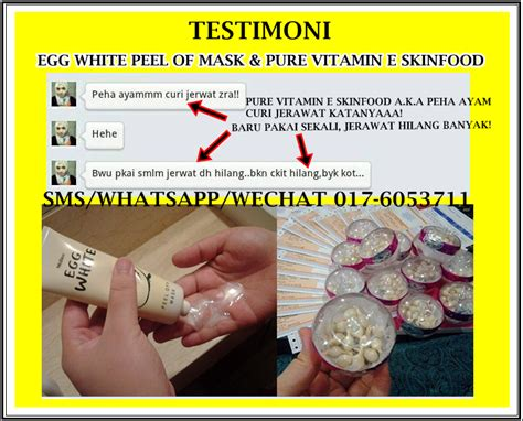 Images Skinfood Vitamin Kulit laily care egg white peel mask a k a masker telor
