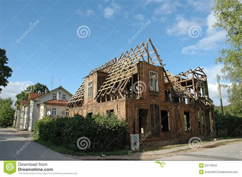 renovating an old house renovation old house stock photos image 20713643