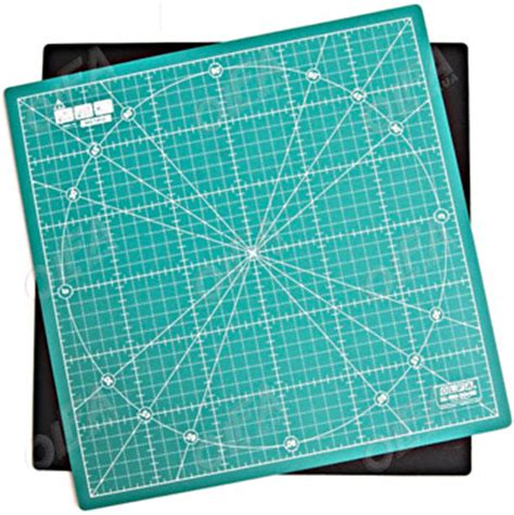 Olfa Spinning Rotary Mat by Creative Grids Uk Ltd 30cm Rotating Olfa Rotary Cutting Mat