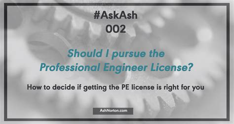 As A Software Engineer Should I Get An Mba by Askash 002 Should I Get My Professional Engineer