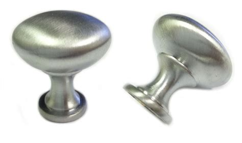 25pcs satin chrome kitchen cabinet knobs 30mm 1 1