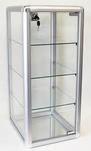 Glass Storage Cabinet Clear Glass Aluminum Storage Cabinet