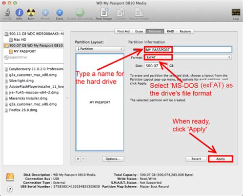 format wd external hard drive to mac how to format a wd external hard drive in exfat or fat32