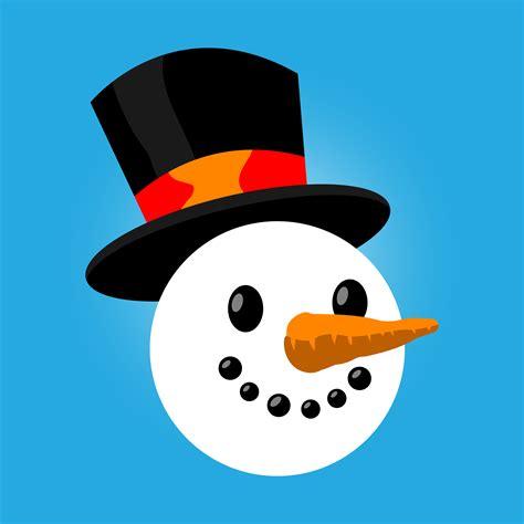 snowman cartoon vector illustration   vectors clipart graphics vector art