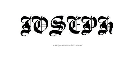 joseph tattoo joseph name designs