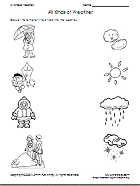Washing Different Colors Together - teacher s net seasons worksheet