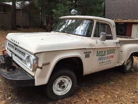 1970 Dodge D100 Truck For Sale 1970 Dodge Power Wagon Bed W100 Utiline