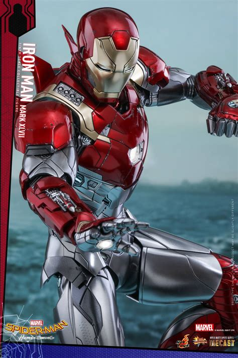 hot toys spider man homecoming iron man mk xlvii hot toys spider man homecoming iron man mk xlvii home
