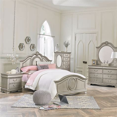 youth bedroom set jessica silver youth bedroom set adams furniture