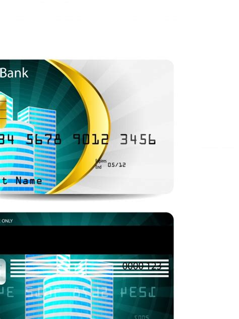 bfgi bank credit card template кредитная банковская карта credit bank card template