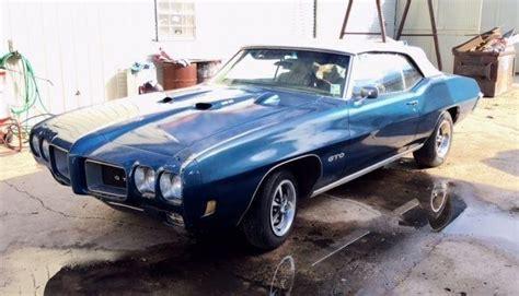 cars  pontiac gto convertible ram air iii