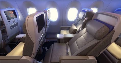 airlines with fully reclining seats china airlines premium economy features a reclining shell