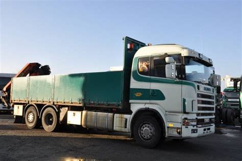gt mobile sweden scania 164 480 6x2 mobile crane from sweden for sale at