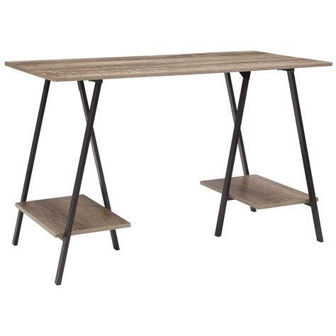signature furniture desk signature design by bertmond industrial home office