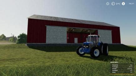 fs red bank barn  simulator games mods