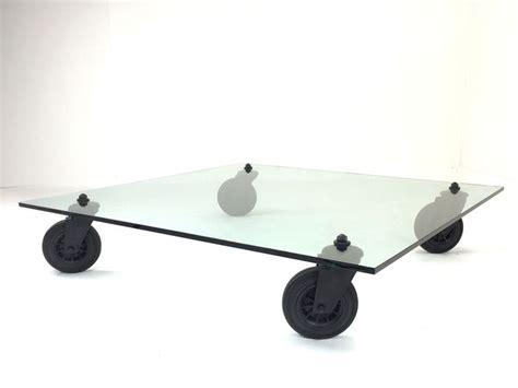 tavolo ruote gae aulenti tavolo con ruote by gae aulenti for fontana arte catawiki