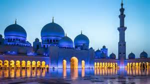 sheikh zayed grand mosque blackout dusk abu dhabi hd wallpaper 1920x1200 wallpapers13